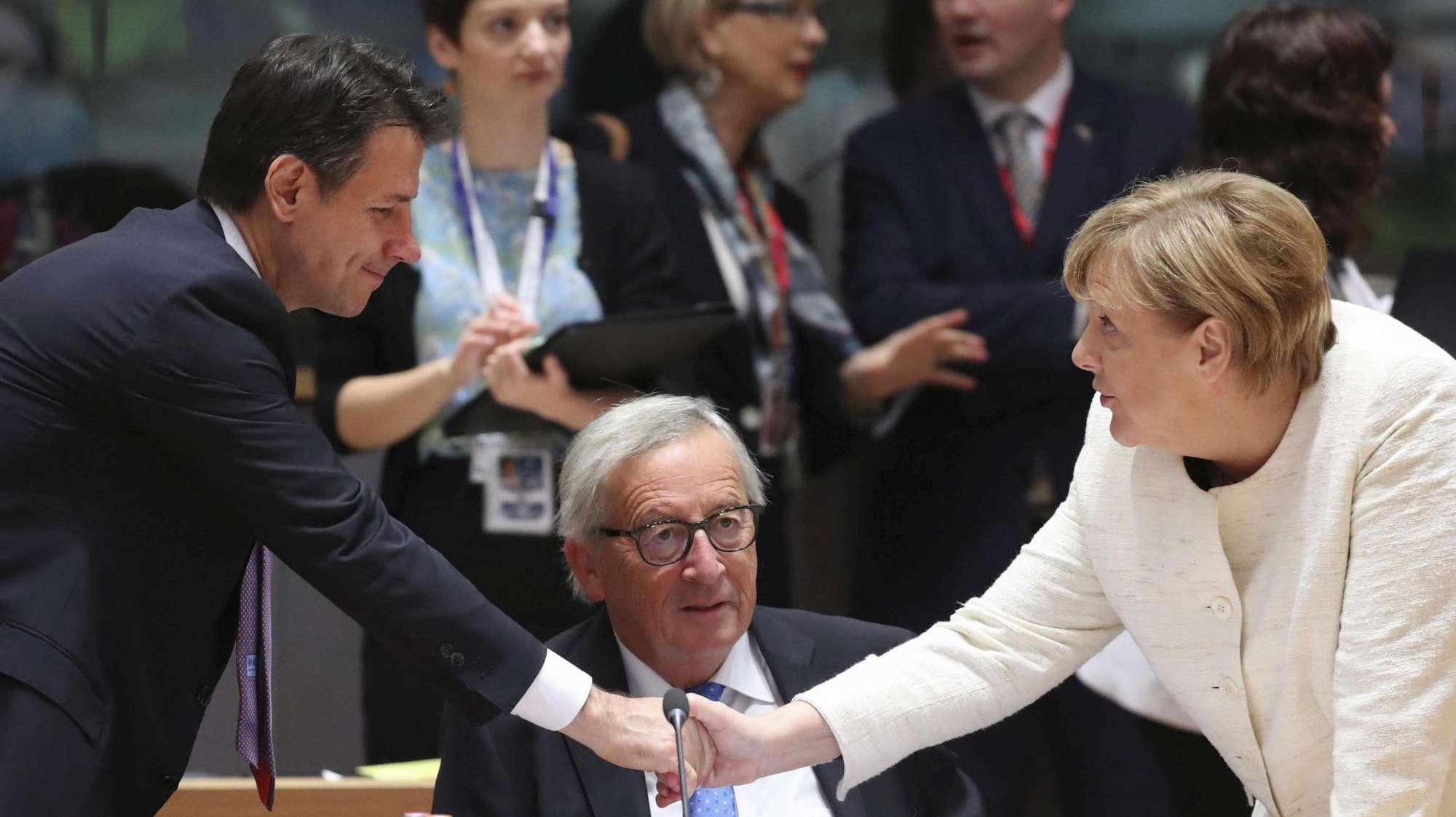 merkel elogia le riforme italiane: