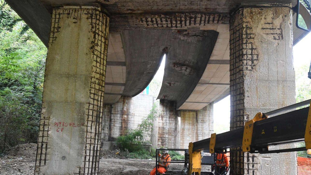 21:30 | Strada Parchi: limitazioni su 87 viadotti ispezionati sul A24 e A25