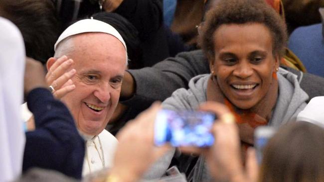 E' Papa Francesco il personaggio 2015 per i lettori di Tgcom24