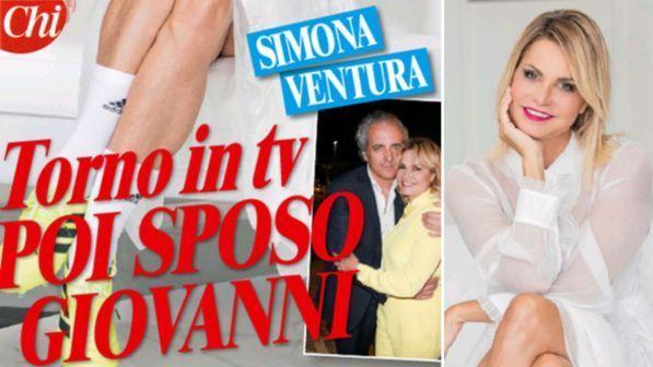 Image result for chi magazine simona ventura giovanni