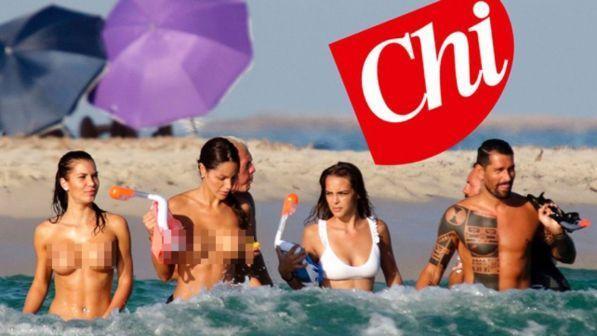 marco borriello, vacanze da playboy: