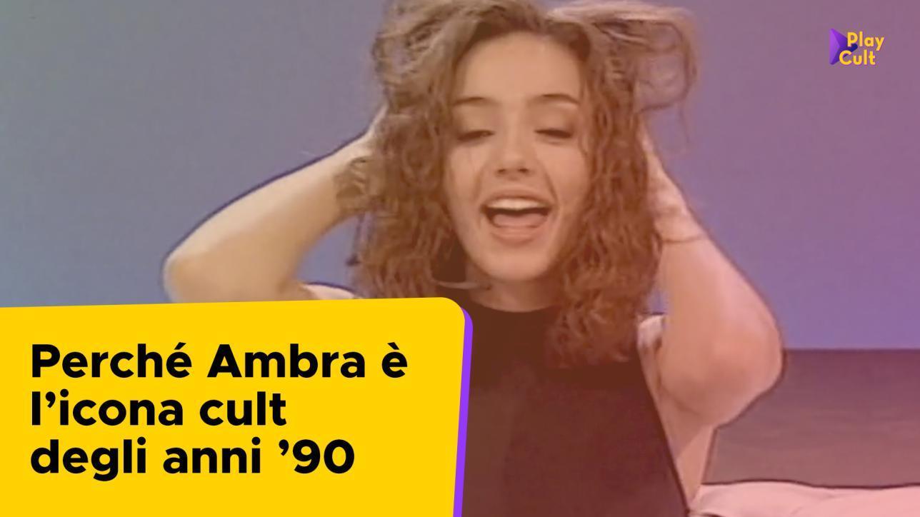 """Ambra Angiolini Topless ambra angiolini a """"non è la rai"""": la nascita di un'icona"""