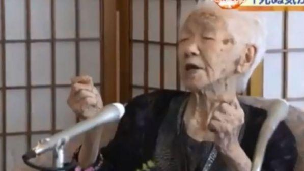 Giappone, a 116 anni Kane Tanaka è la persona più anziana del mondo
