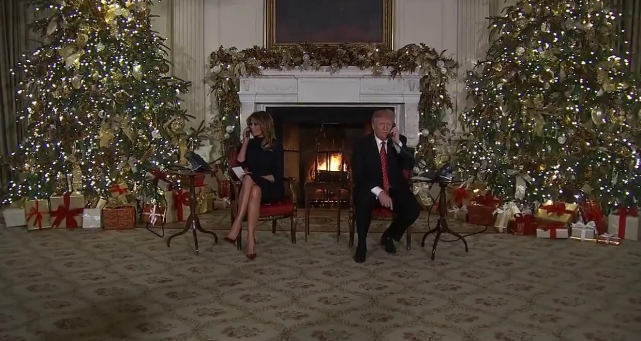 Immagini Natale Usa.Usa Trump A Un Bimbo Di 7 Anni Sei Grande Per Credere A Babbo