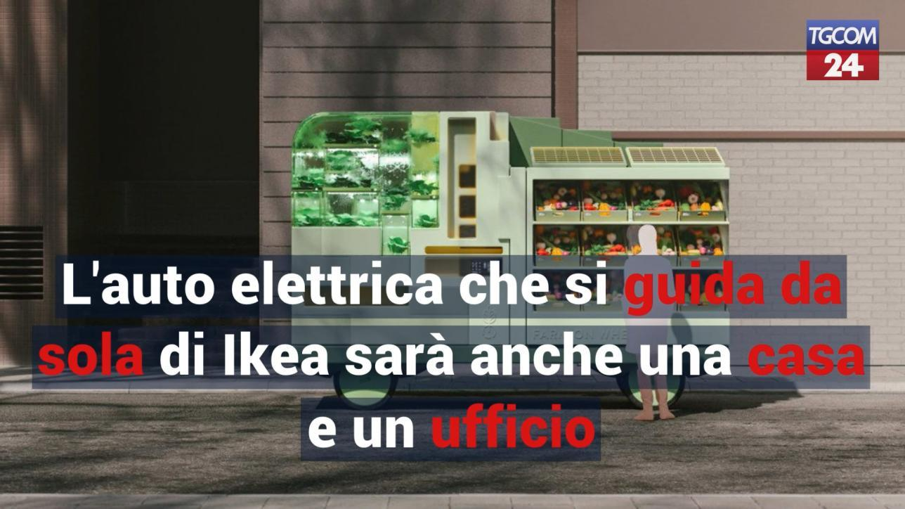 Ufficio Legale Ikea : L auto elettrica che si guida da sola di ikea sarà anche una casa
