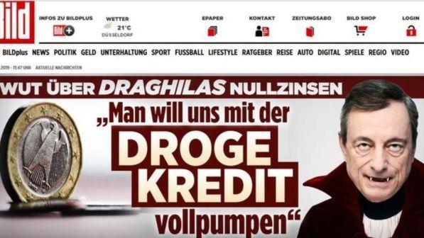 """Bundesbank contro il bazooka di Draghi: """"La sua mossa è stata esagerata"""""""