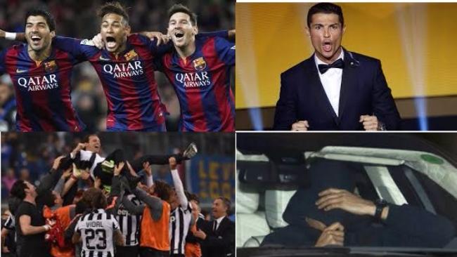 Gol, trofei e record: un anno di calcio in 50 scatti