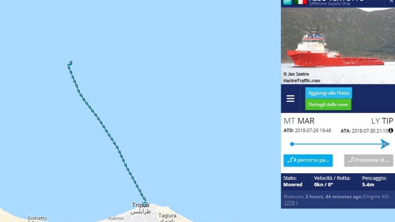 nave italiana soccorre 108 migranti e li riporta in libia, è la prima volta - tgcom24