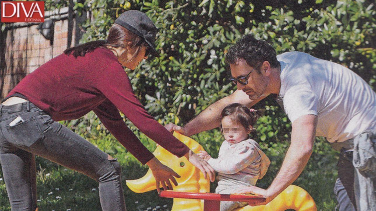 Raoul bova e rocio happy family al parco con luna tgcom24 - Porno diva italiana ...
