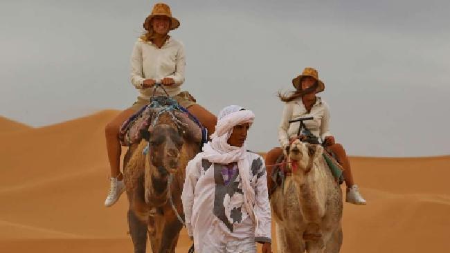 Donnavventura nel deserto del Sahara