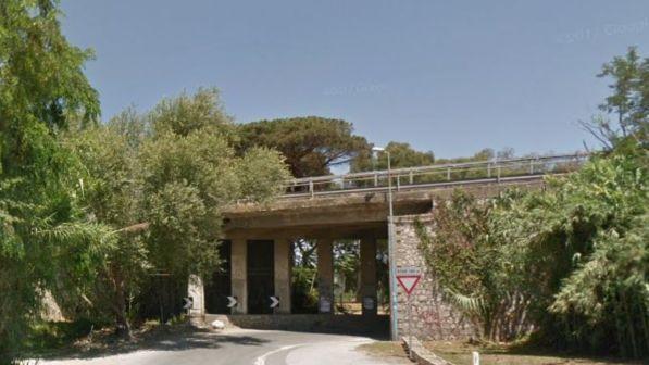 Ponte crollato, riaperto il viadotto della Domitiana nel Napoletano