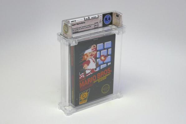 Videogames, a Super Mario cartridge sold for 100 thousand dollars