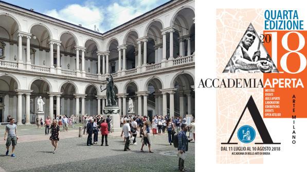 d8ad1984e04 Tutto il meglio di Brera all Accademia Aperta 2018 - Tgcom24