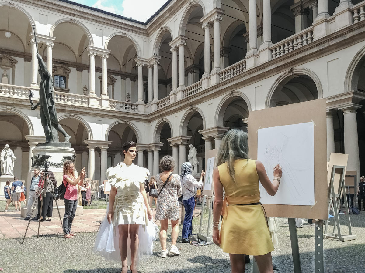 5e9c9b8f0f0 Dall 11 luglio al 10 agosto l Accademia di Belle Arti di Brera riapre i  suoi spazi ricchi di storia per offrire al pubblico una grande kermesse  all insegna ...