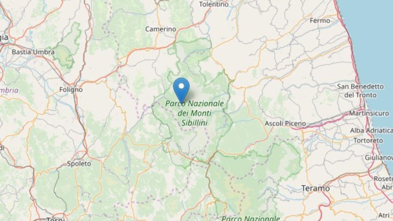 Scossa di terremoto nel Maceratese nella notte: magnitudo 3.1