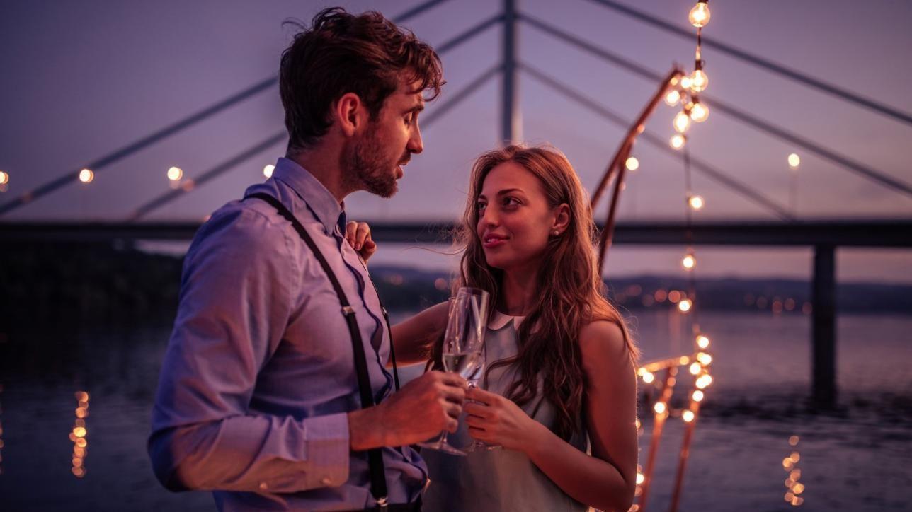 matrimonio non incontri romantico scena