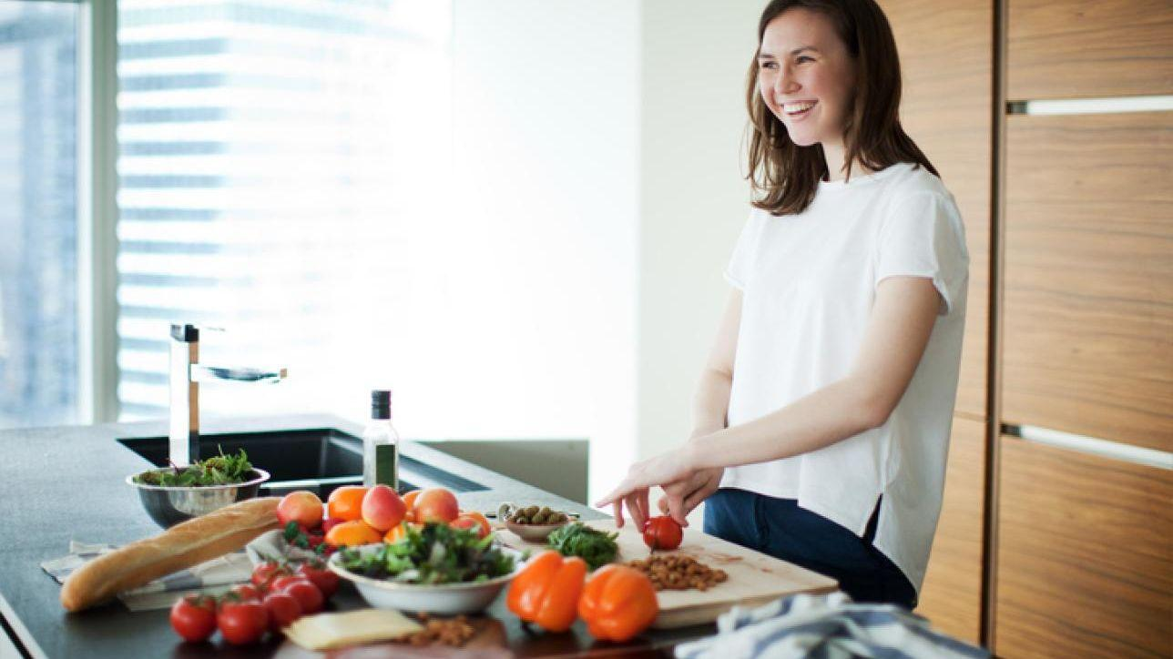 le donne esercitano la dieta