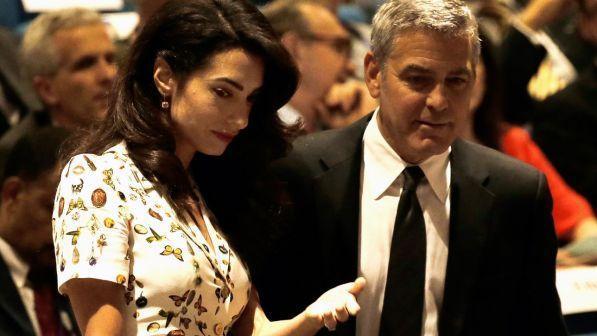 652be8e40c1e George Clooney e Amal in dolce attesa di un maschio e una femmina ...