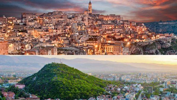 Matera and Plovdiv, the European capitals of culture 2019