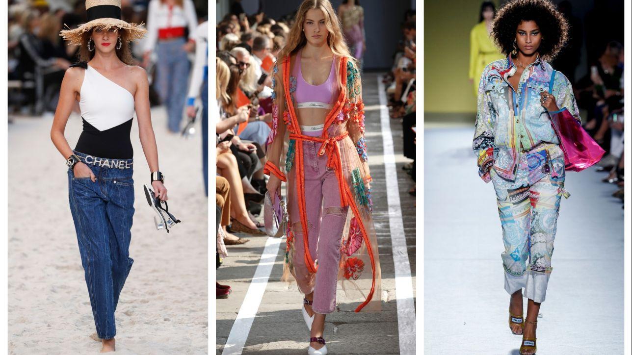 Jeans di primavera: classico, strappato o 'grunge'? Tgcom24