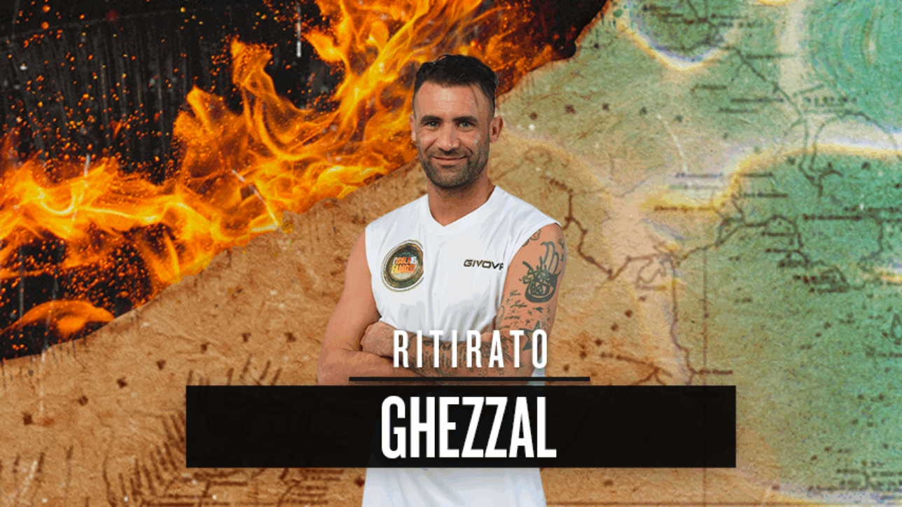 """""""Isola dei famosi"""", Ghezzal si ritira per motivi personali"""