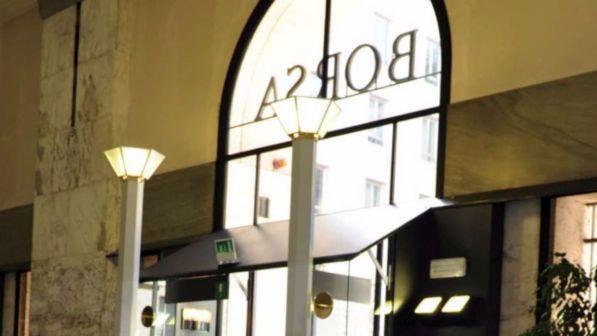 a3e0c6441c Piazza Affari apre in positivo: primo Ftse Mib guadagna lo 0,96%. La Borsa di  Milano ...