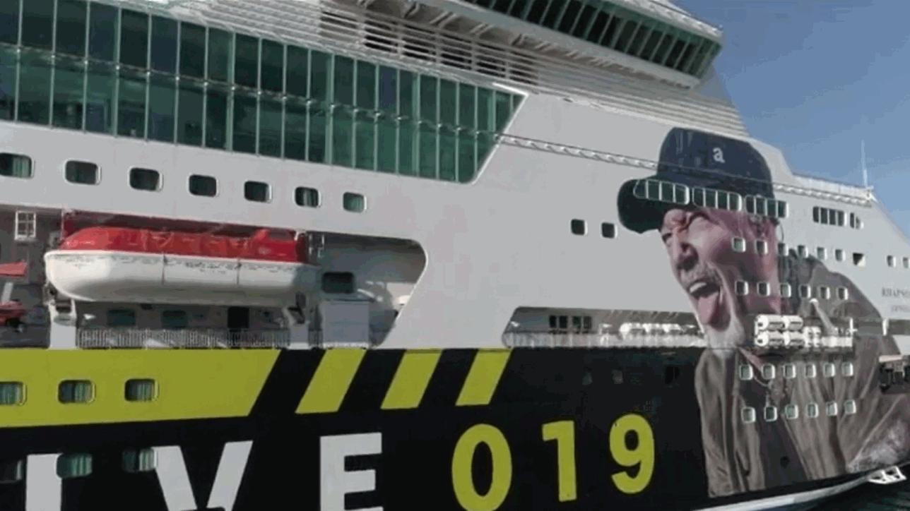 Parte da Genova la nave di Vasco: destinazione Cagliari per le ...