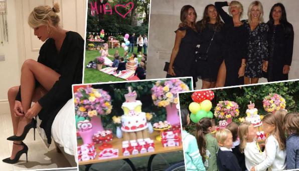 Alessia Marcuzzi festeggia il compleanno di Mia a Londra   Tgcom24