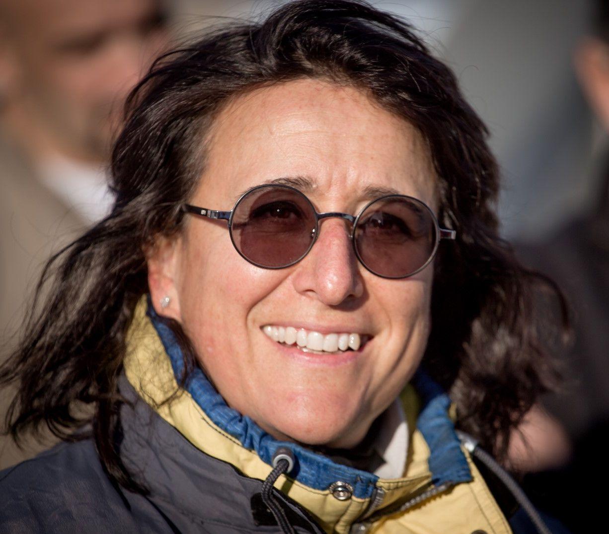 Donatella Ricci appena rientrata dalla missione che le e' valsa il record mondiale