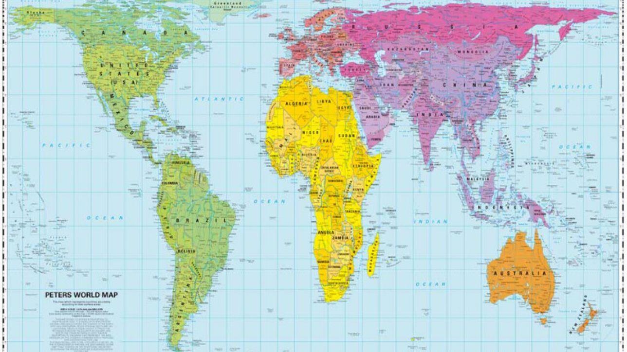 Cartina Geografica Centro America.Sicuro Di Conoscere La Geografia Questa Mappa Ti Fara
