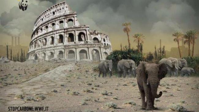 Clima, deserto a Roma e Venezia sott'acqua: le