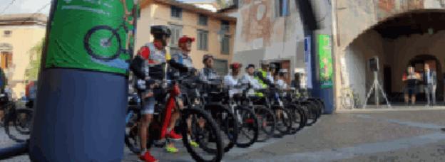 La ri-carica dei 201 al 1° raduno E-Bike