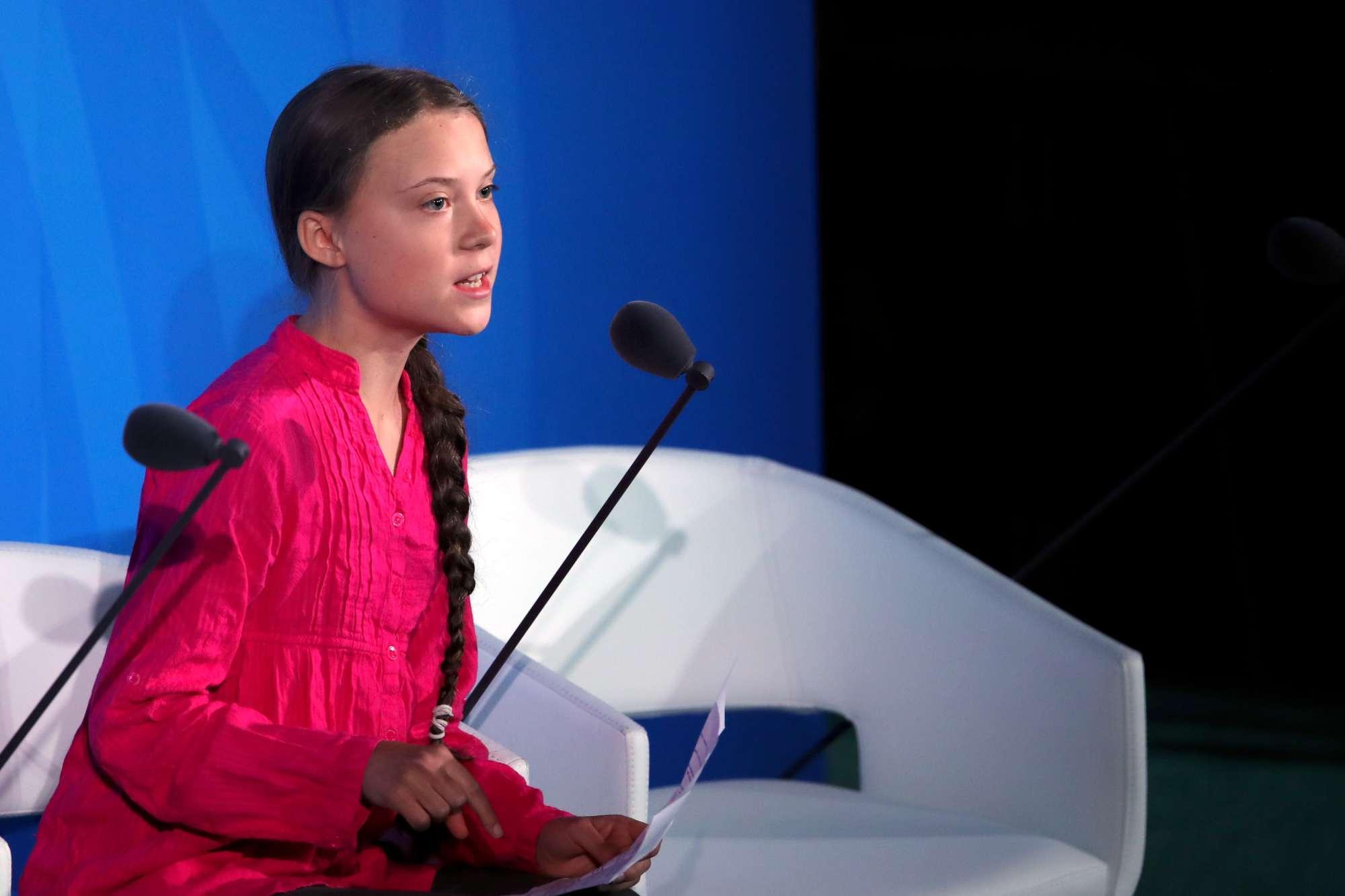 Clima, Greta all Onu:  Mi avete rubato i sogni e l infanzia