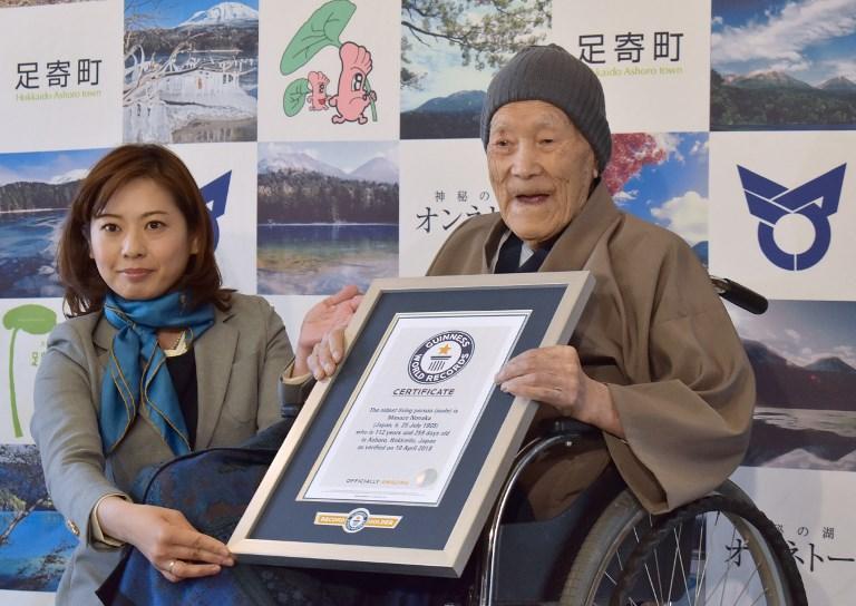 Guinness dei primati a Masazo Nonaka: con i suoi 112 anni è l'uomo più longevo