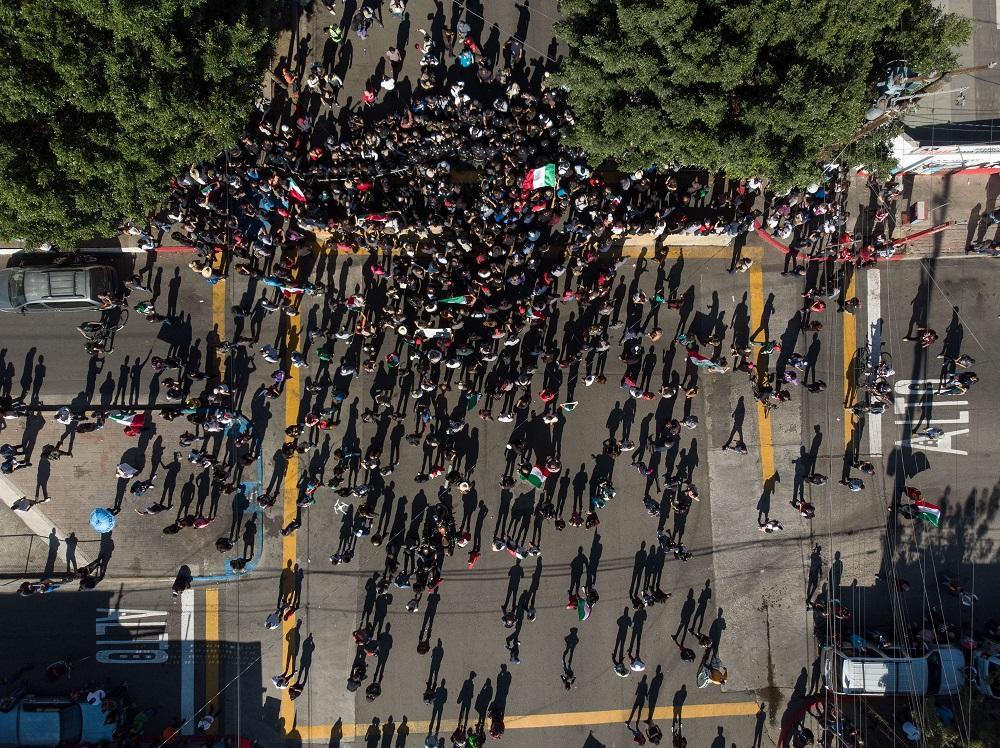 Messico, a Tijuana tensione e proteste contro l invasione dei migranti