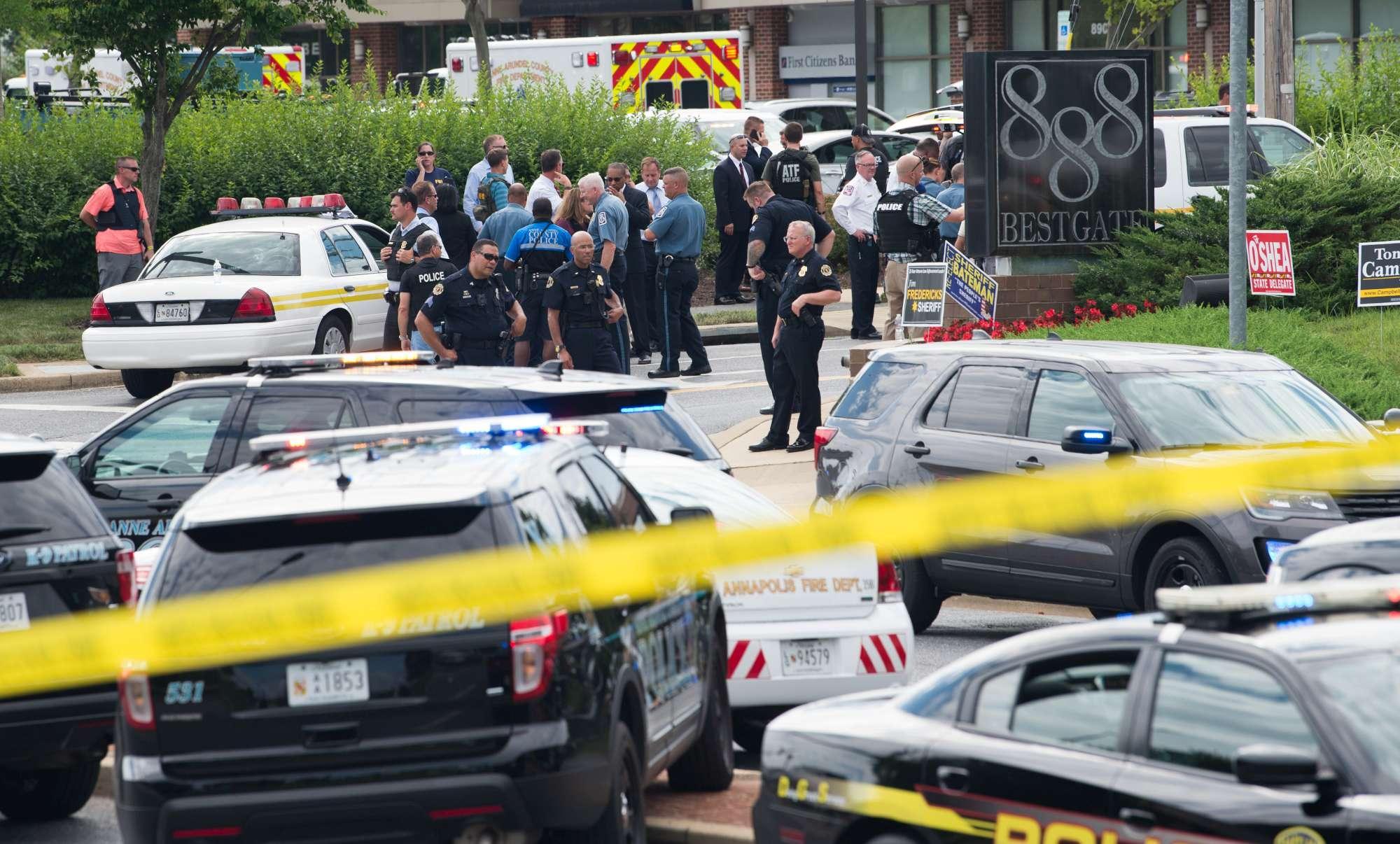 Usa, sparatoria nella sede di un giornale locale in Maryland