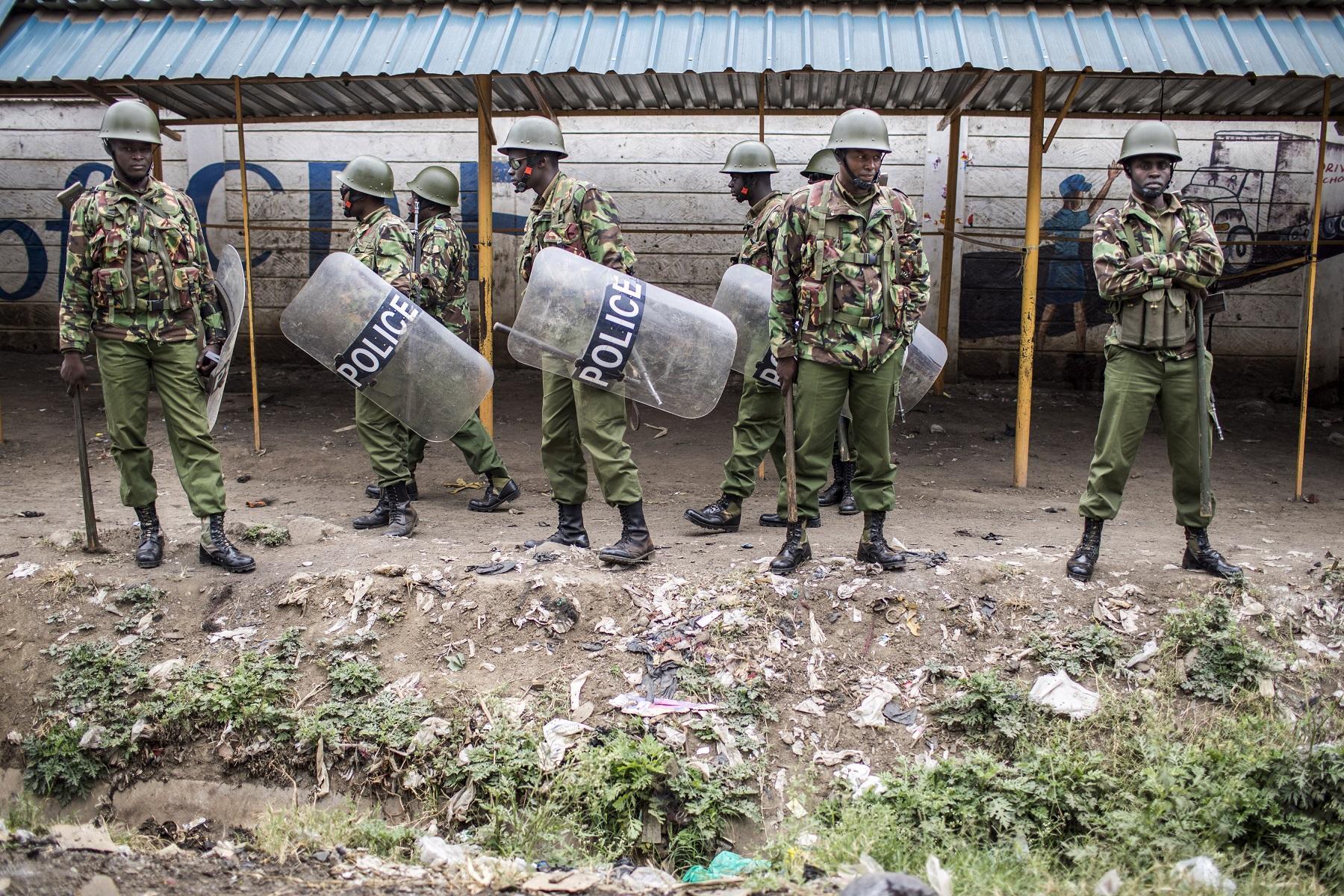 Le proteste dopo le elezoni in Kenya