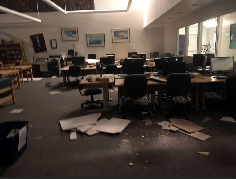 Alaska, terremoto di magnitudo 6.7: panico e danni ad Anchorage