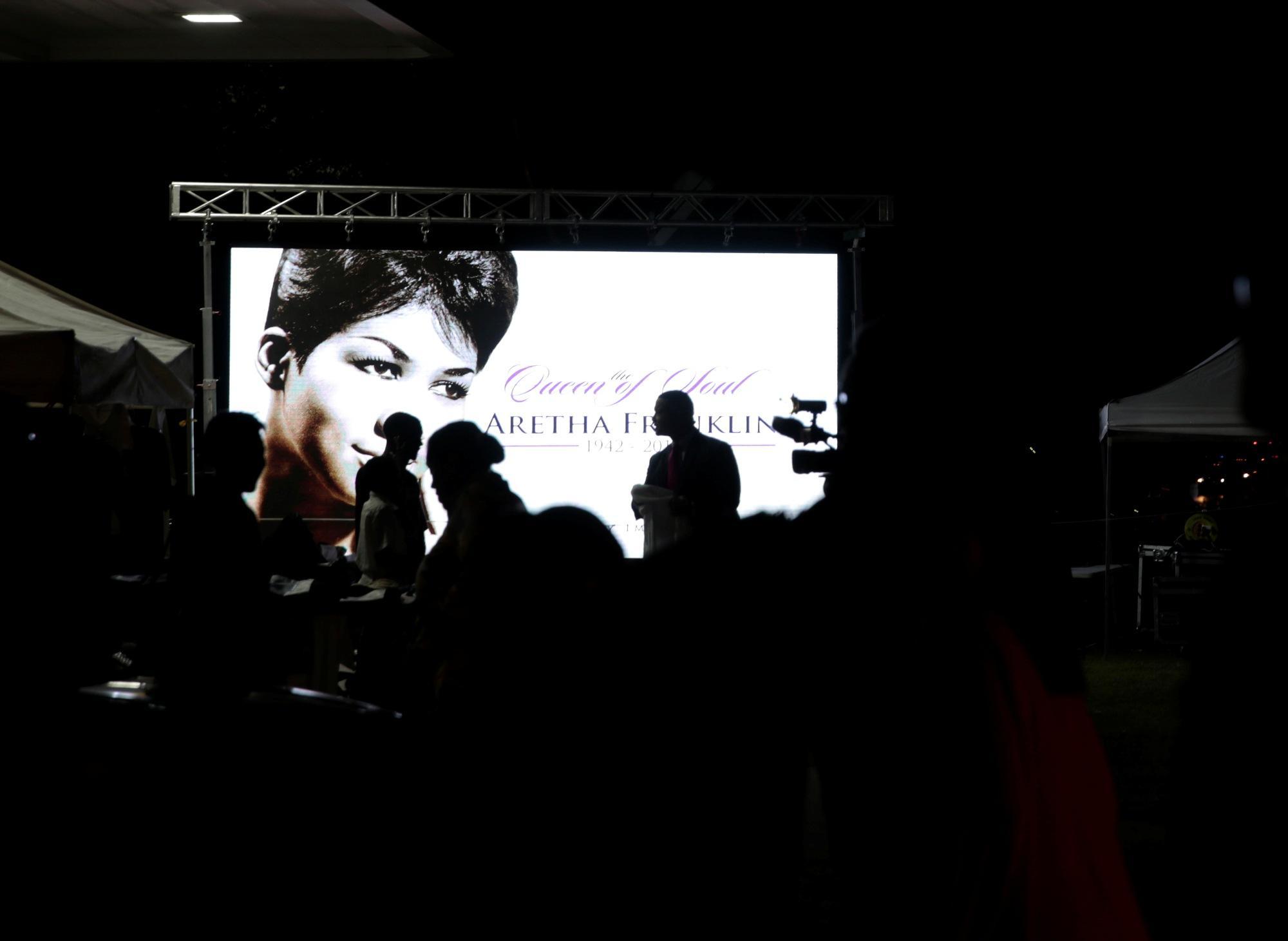Aretha Franklin: commozione e tanta musica ai suoi funerali