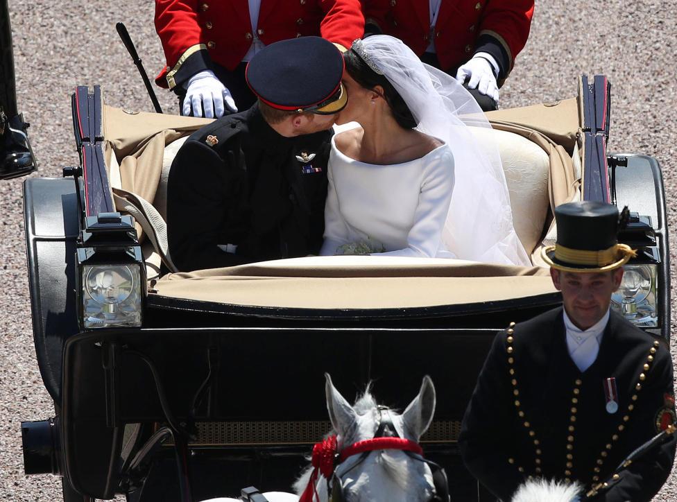 Royal wedding, il bacio
