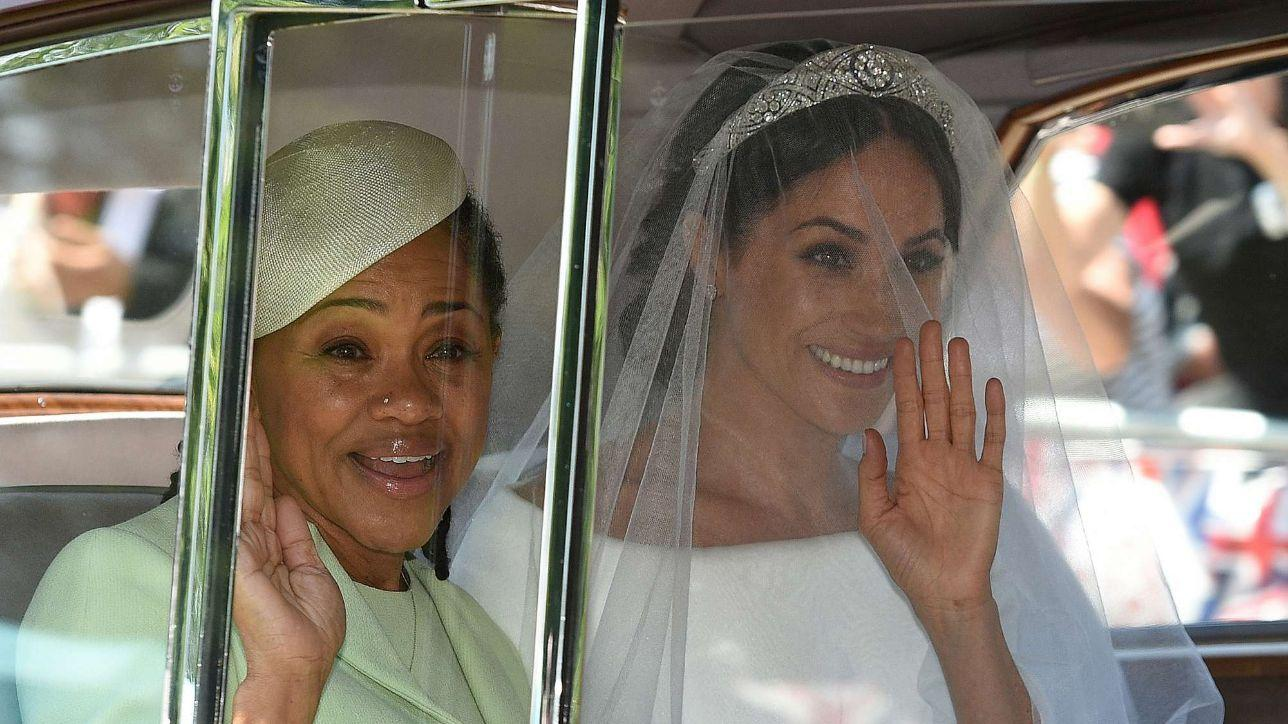 Royal wedding, l'arrivo di Meghan nella cappella di St. George