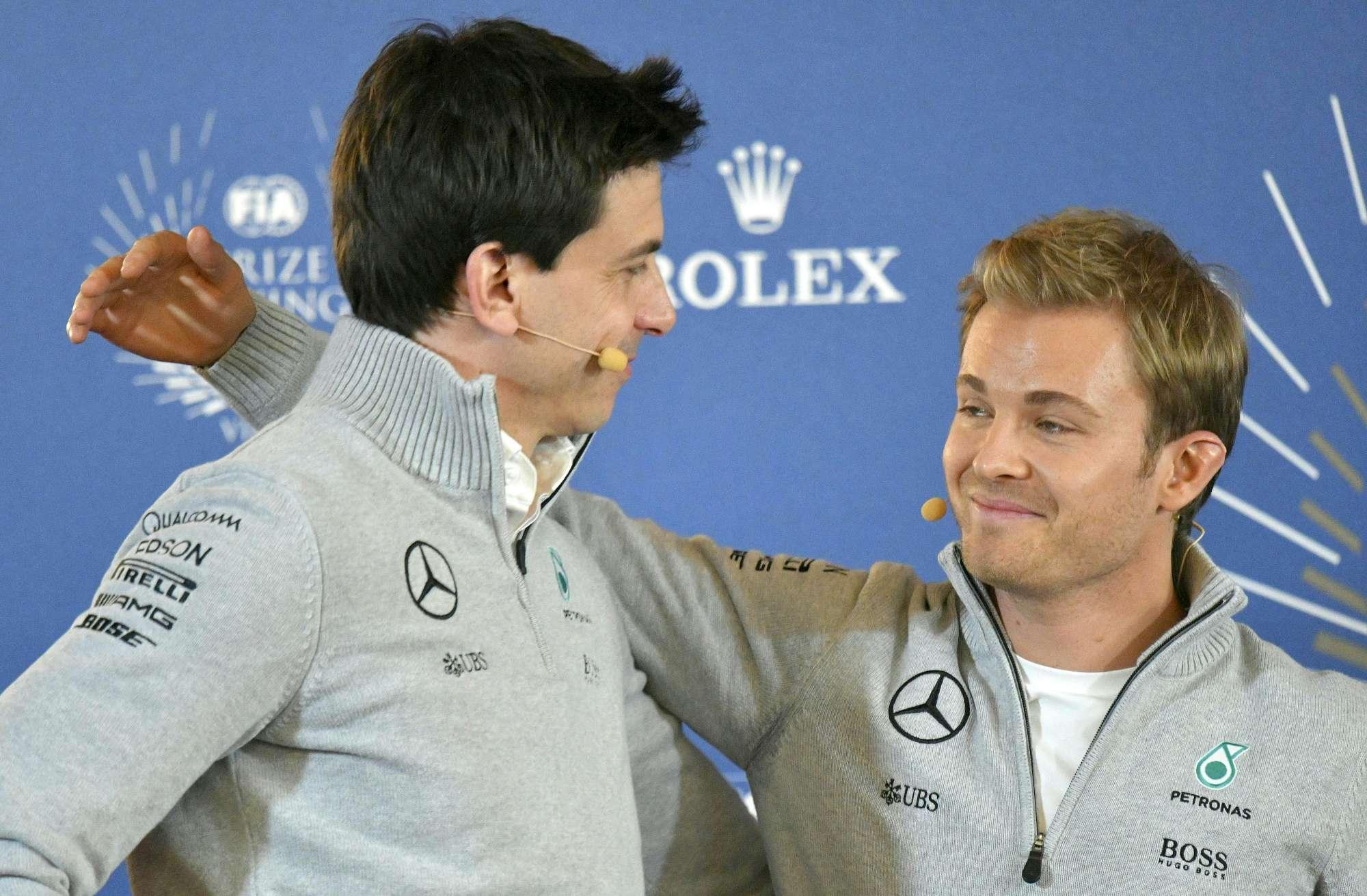 Nico Rosberg, la conferenza d addio