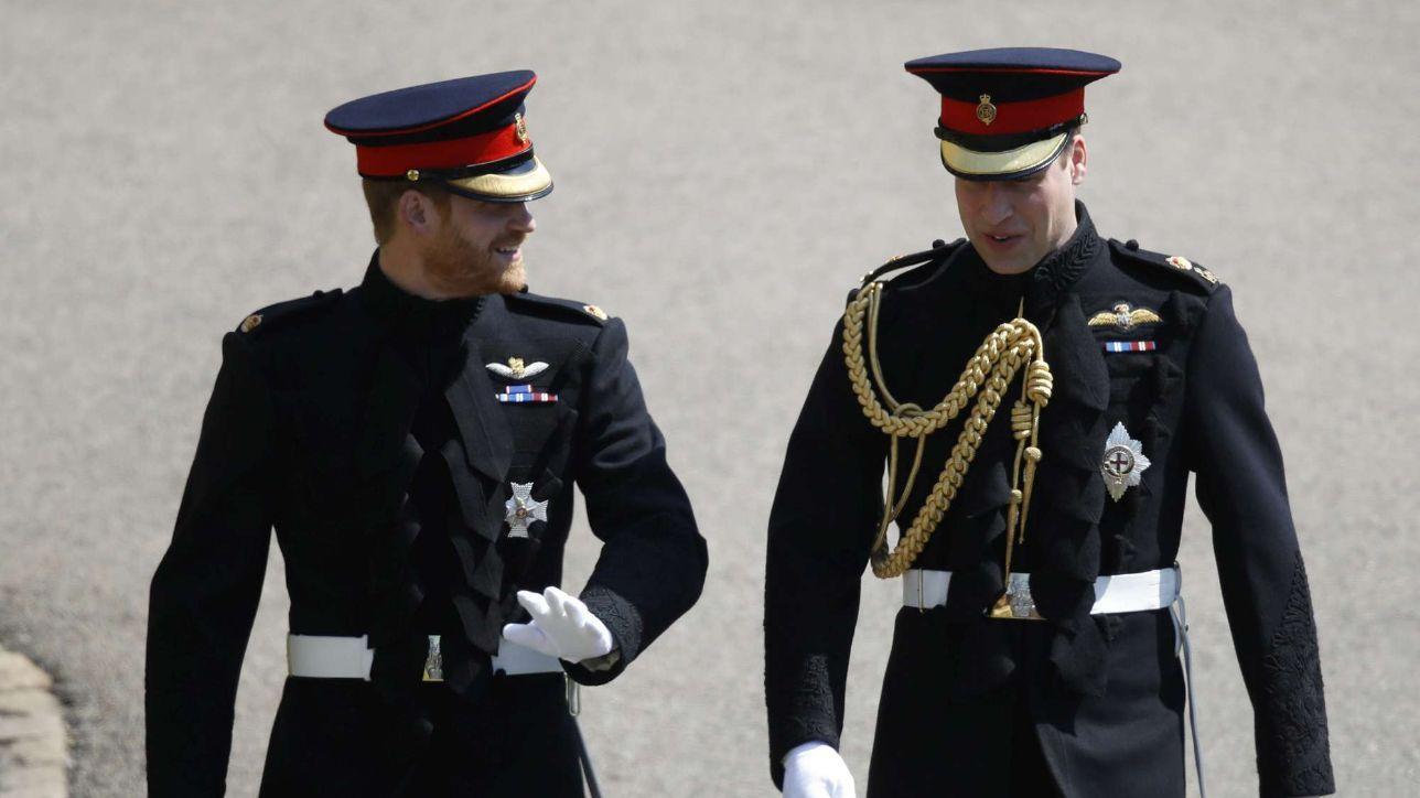 Royal wedding, l'arrivo del principe Harry con William