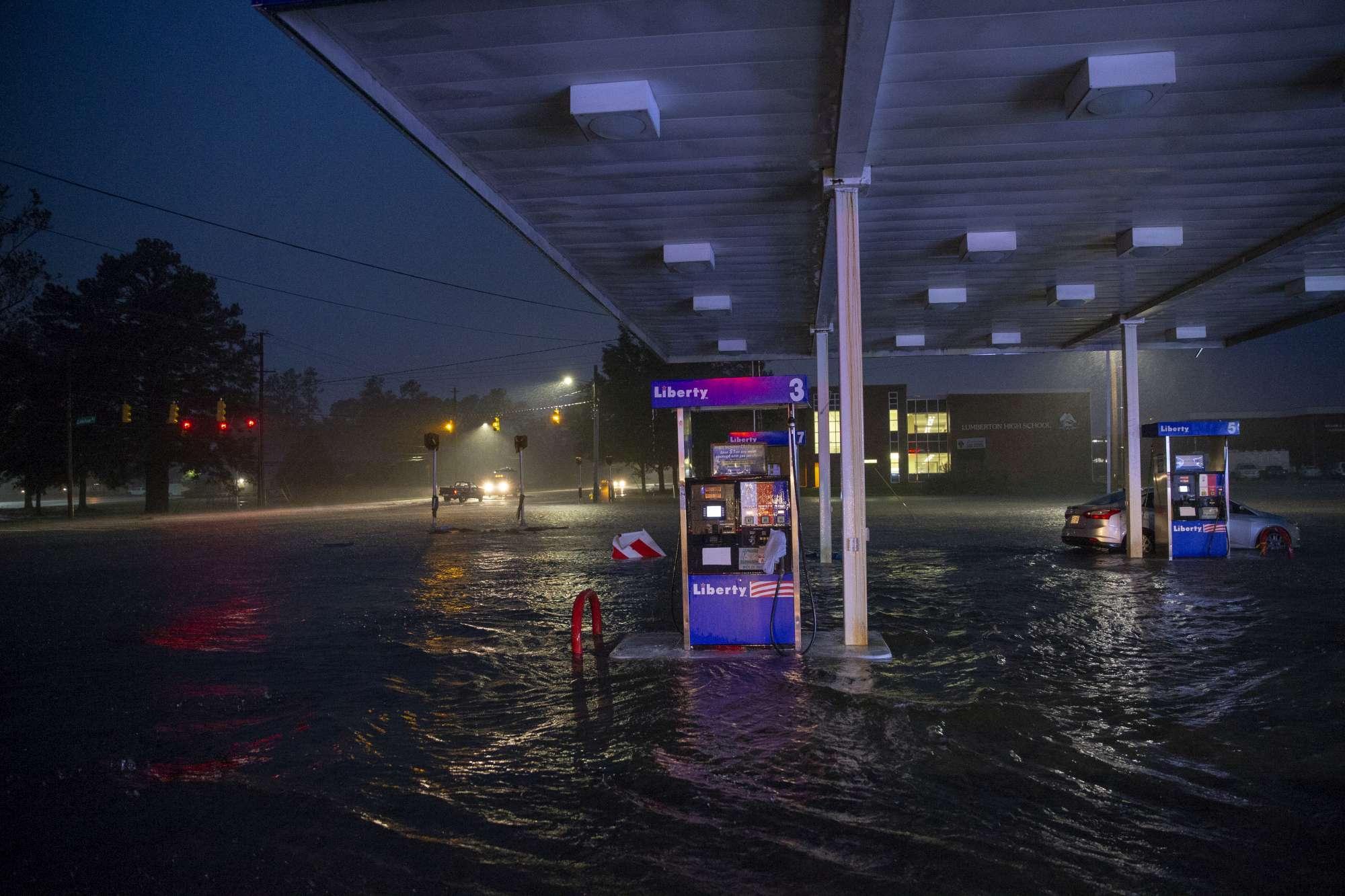 Usa, l'uragano Florence mette in ginocchio il North Carolina