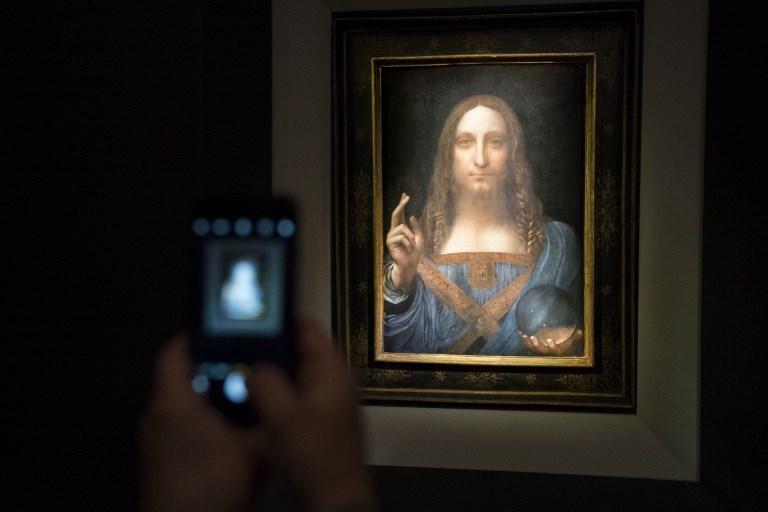 Il  Salvator Mundi  di Leonardo battuto all asta per 450 milioni di dollari