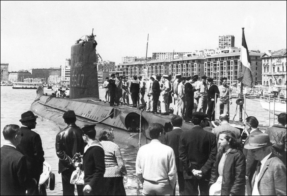 Sottomarino francese sparito 50 anni fa ritrovato vicino a Tolone