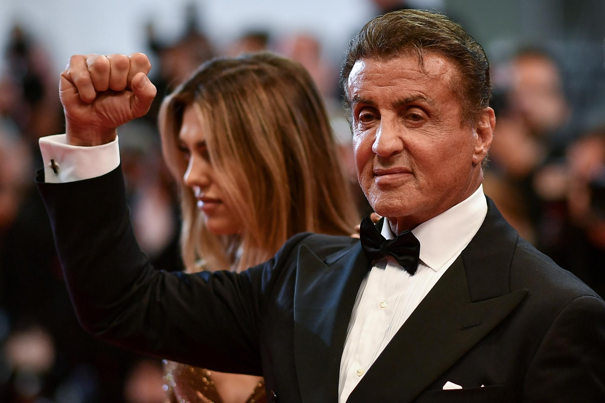 Cannes 2019: Sylvester Stallone in forma sul red carpet