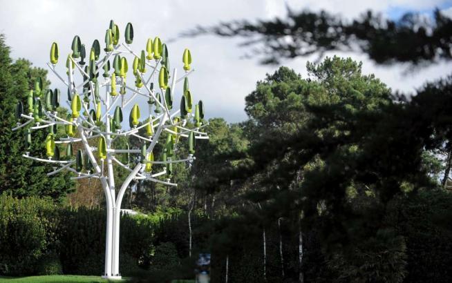 Parigi, l'energia eolica