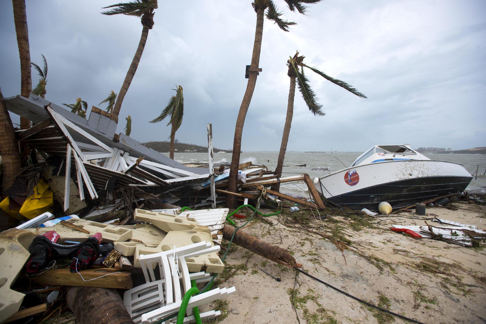 Uragano Irma, la devastazione ai Caraibi