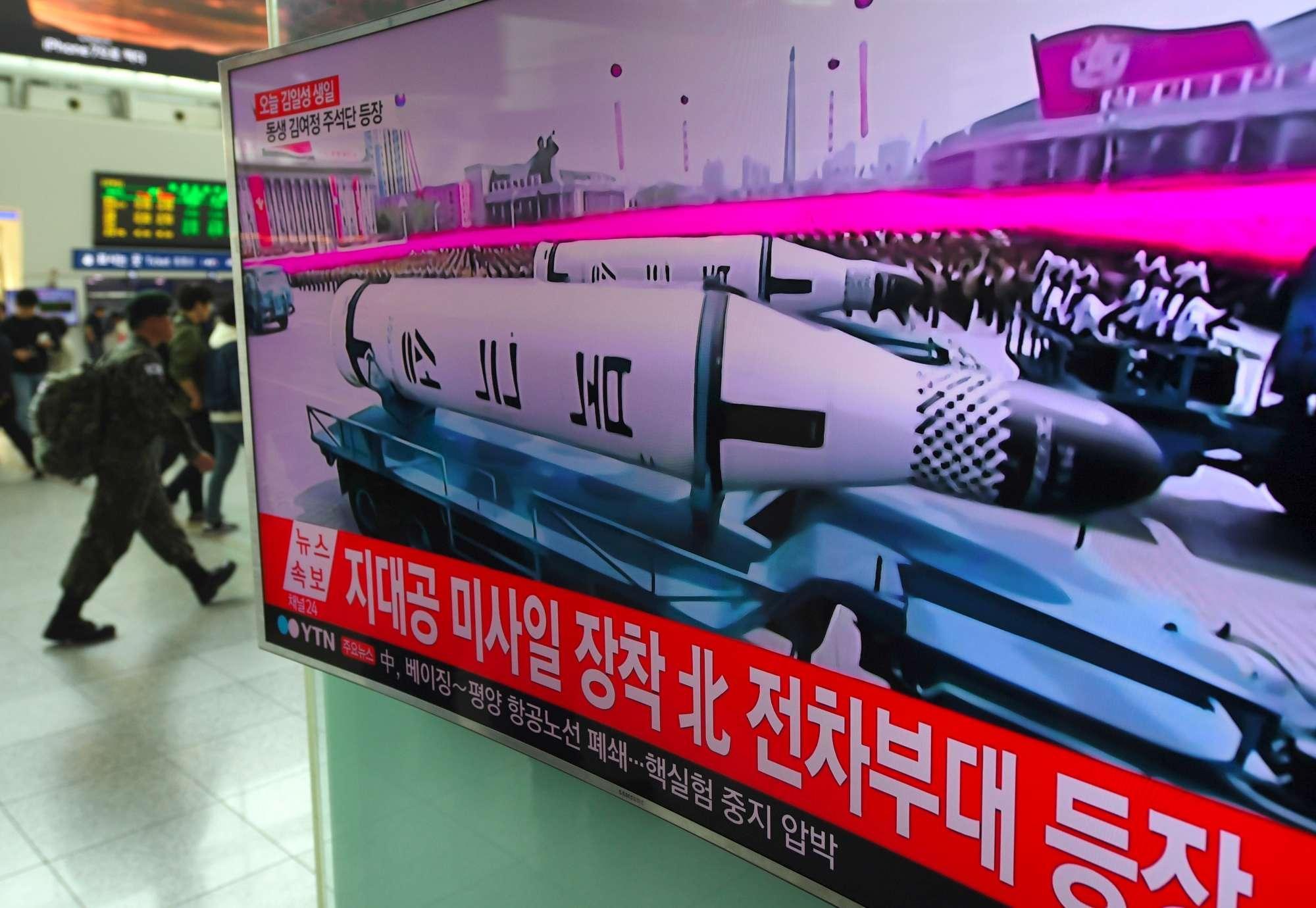 Corea del Nord, la grande parata di Pyongyang